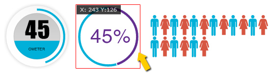 infographic Widgets HTML5