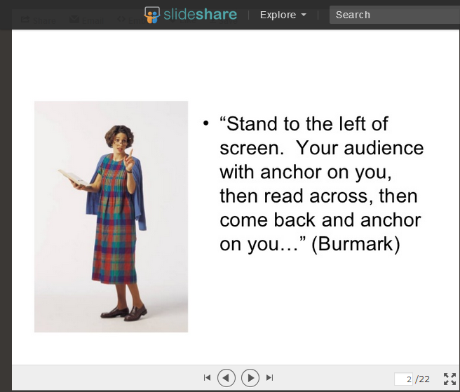 Slideshare Presentation Tips